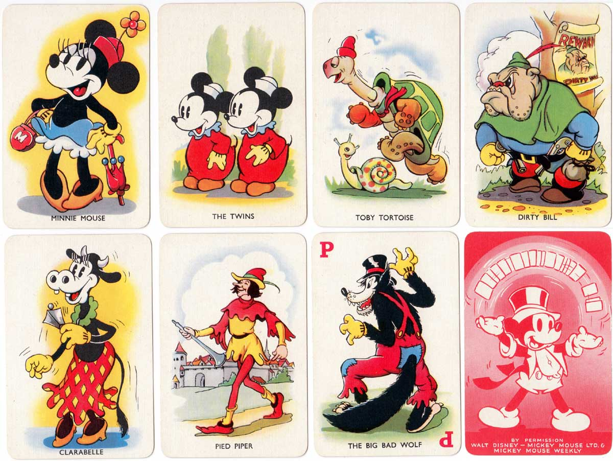Shuffled Symphonies published by Pepys Games in association with Walt Disney, 1939