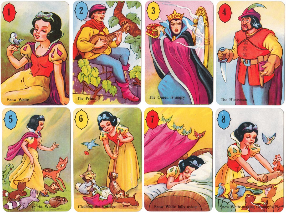 Snow White 2nd edition published by Pepys Games, 1951