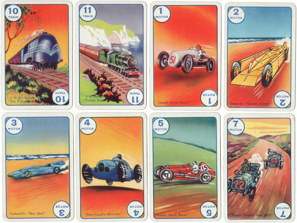 second edition of Speed by Pepys Games published in c.1945