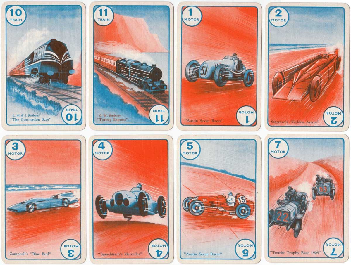first edition of Speed by Pepys Games published in 1938