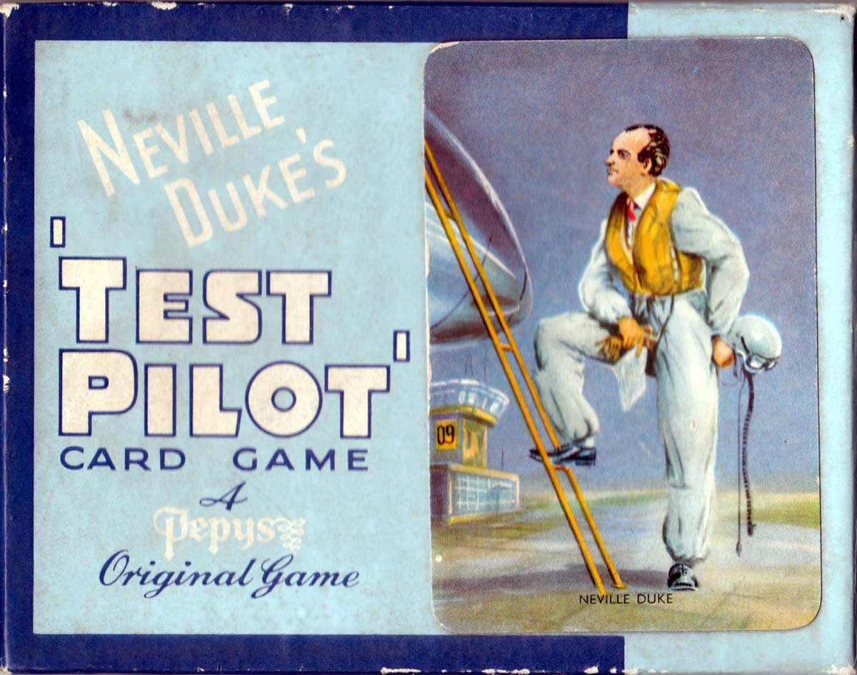 'Test Pilot' published by Pepys Games, 1950s