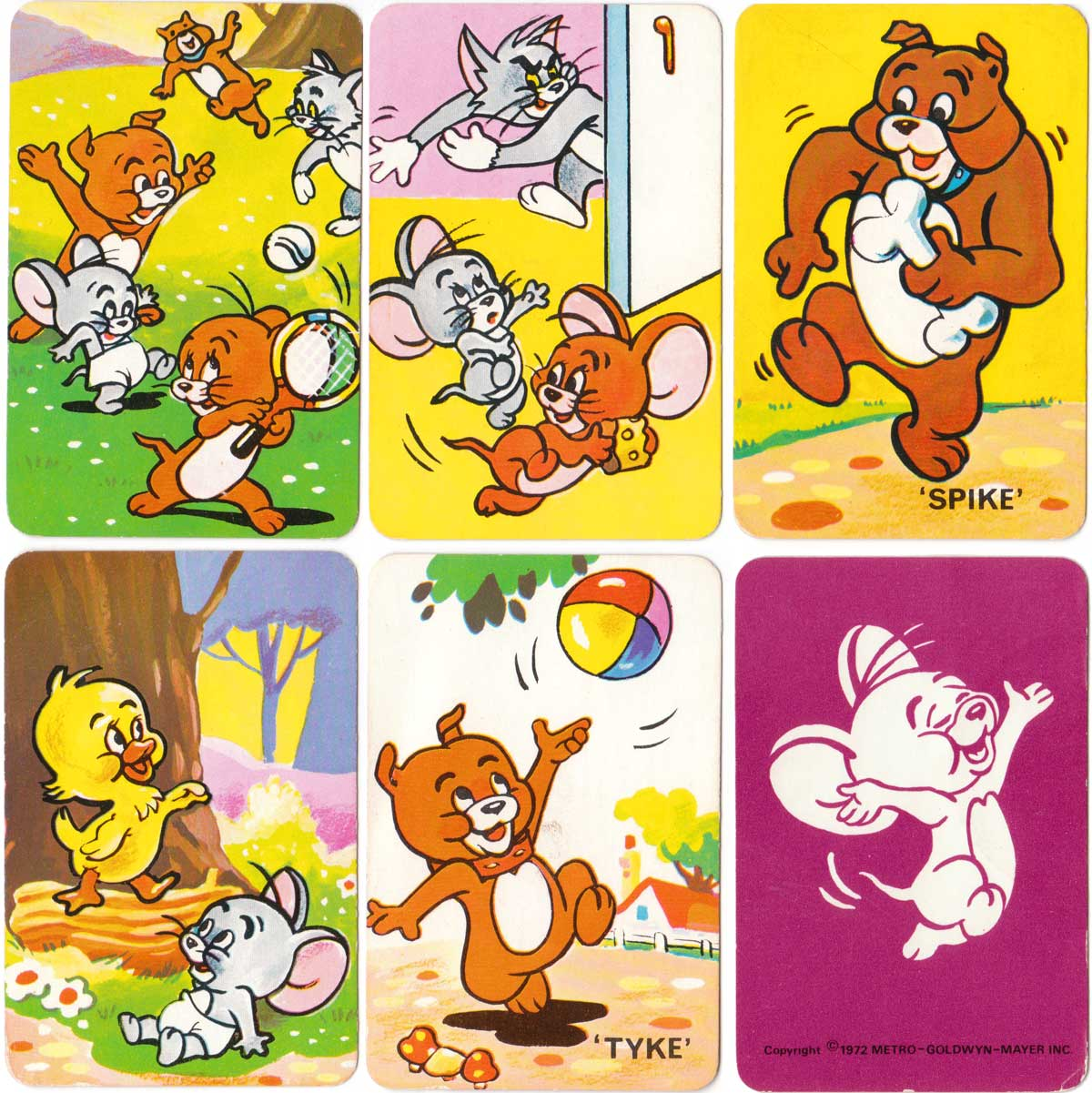 Tom and Jerry Snap published by Pepys Games, 1972