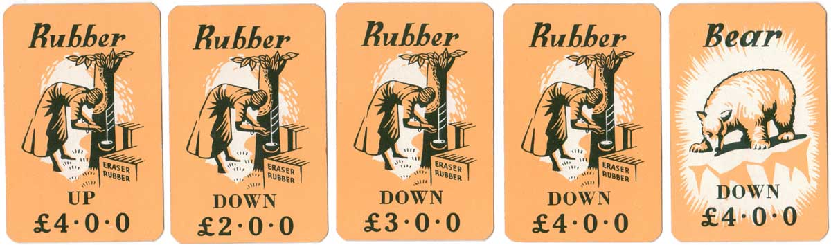 Win-A-Lot card game by Pepys, 1951