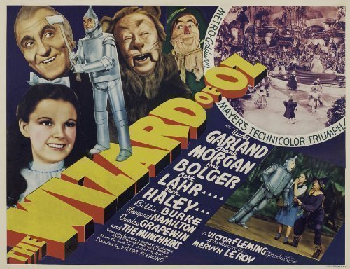 Wizard of Oz poster, 1939