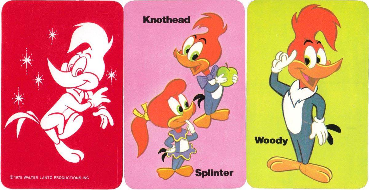 Woody Woodpecker card game by Pepys, 1975
