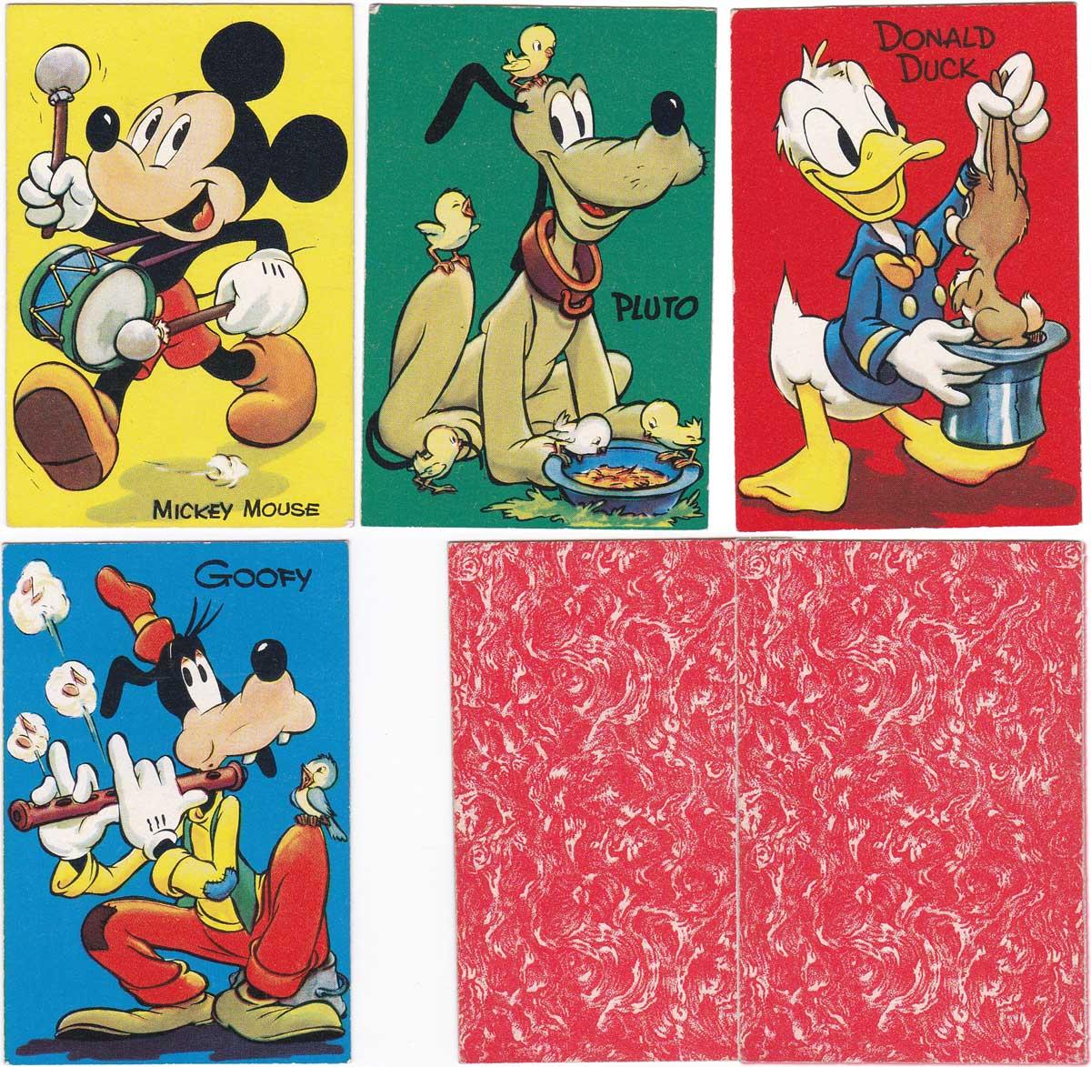 Disney Wu-Pee card game by Pepys (Castell Bros Ltd), 1947