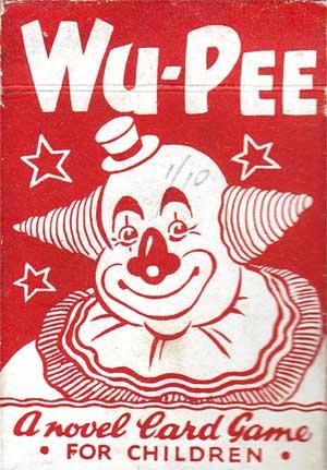 Wu-Pee card game by Pepys (Castell Bros Ltd), 1947
