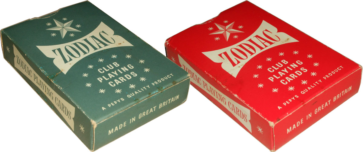 Zodiac Club Playing Cards for Pepys, c.1955-70