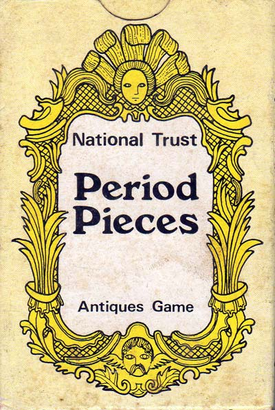 National Trust Period Pieces Antiques Game produced in 1976
