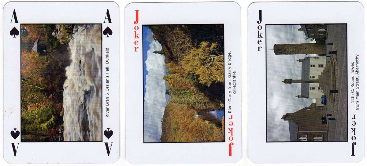 Perthshire Playing Cards with photography by Duncan McEwan, 2014