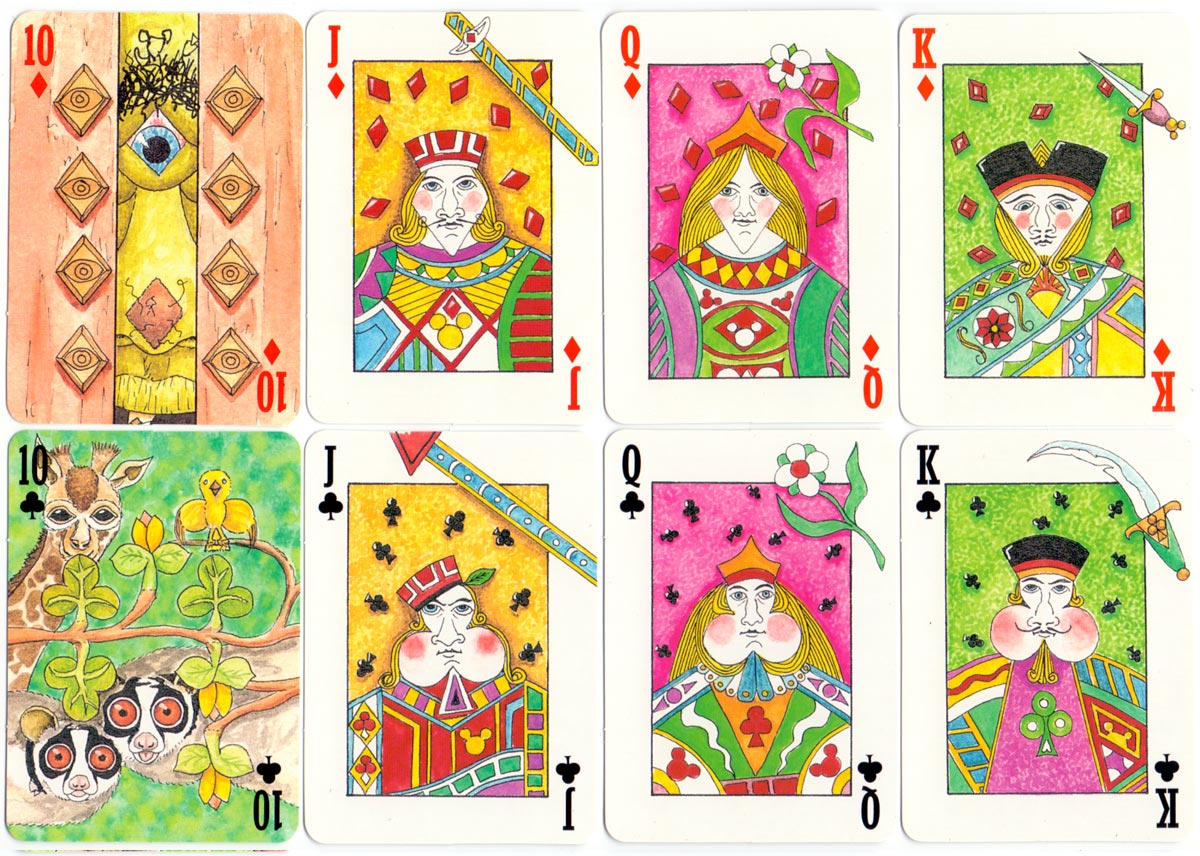 "Peter Wood's ""2000Pips"" Transformation pack of playing cards (1999)"