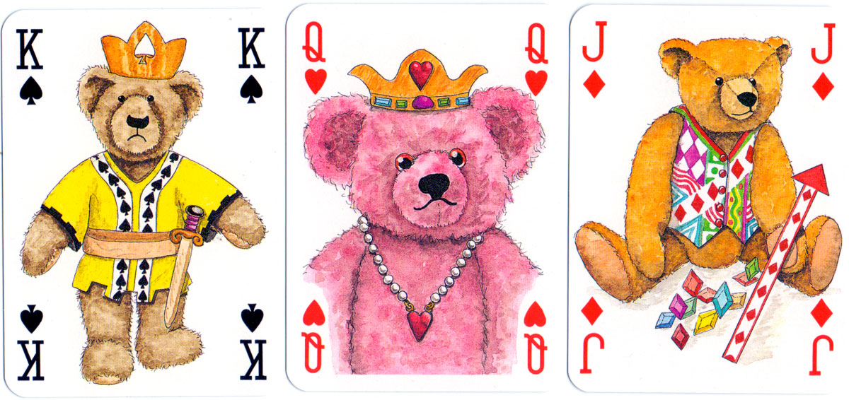 The Teddy Bear Transformation Deck (1994) designed by Peter Wood