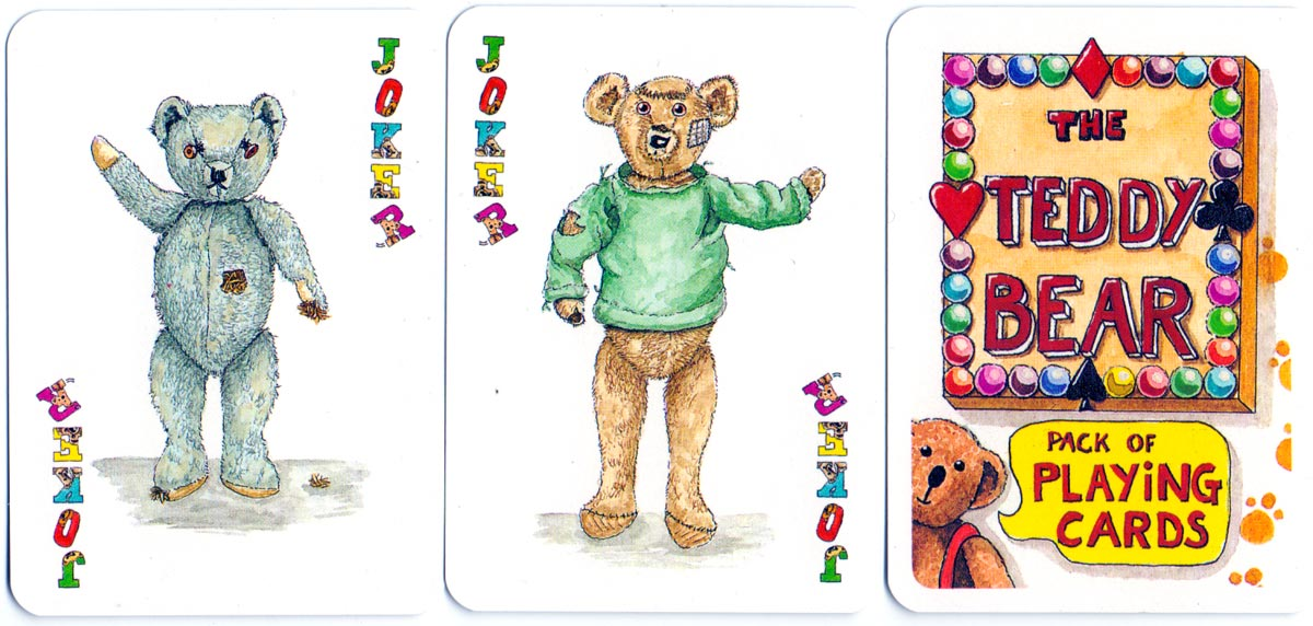 The Teddy Bear pack of playing cards created by Peter Wood, 1994
