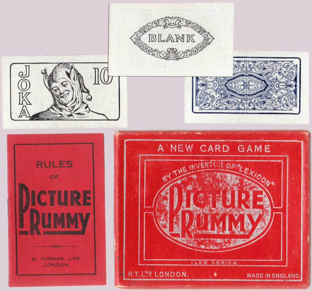 Picture Rummy by R. Turner Ltd, 2nd edition, 1937