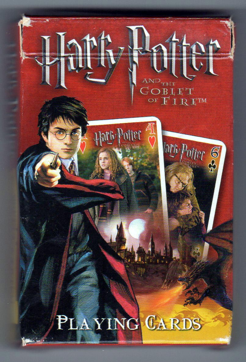 Harry Potter The Goblet Of Fire The World Of Playing Cards