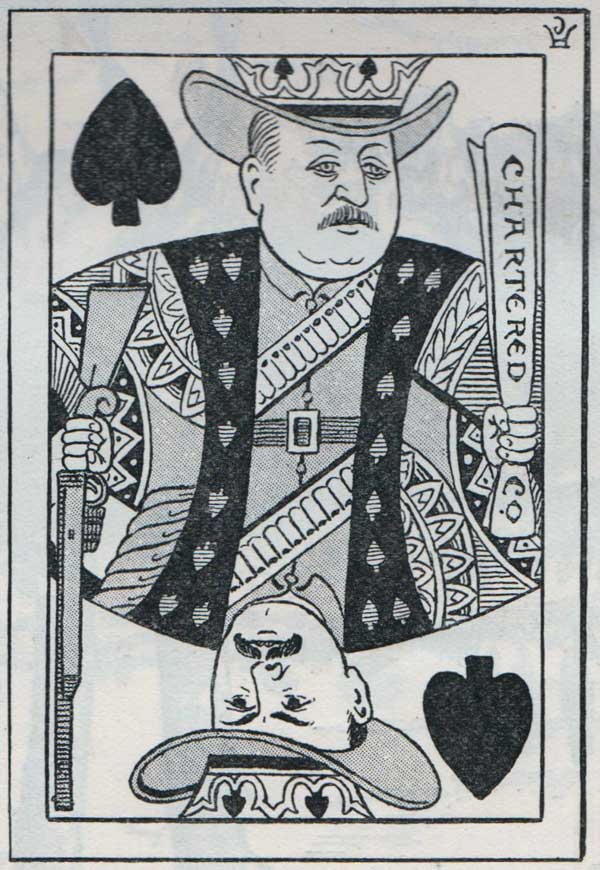 Mr Punch's Playing Cards, March 1896