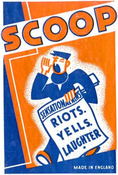 Scoop by James Cond Ltd, Birmingham, c.1920s