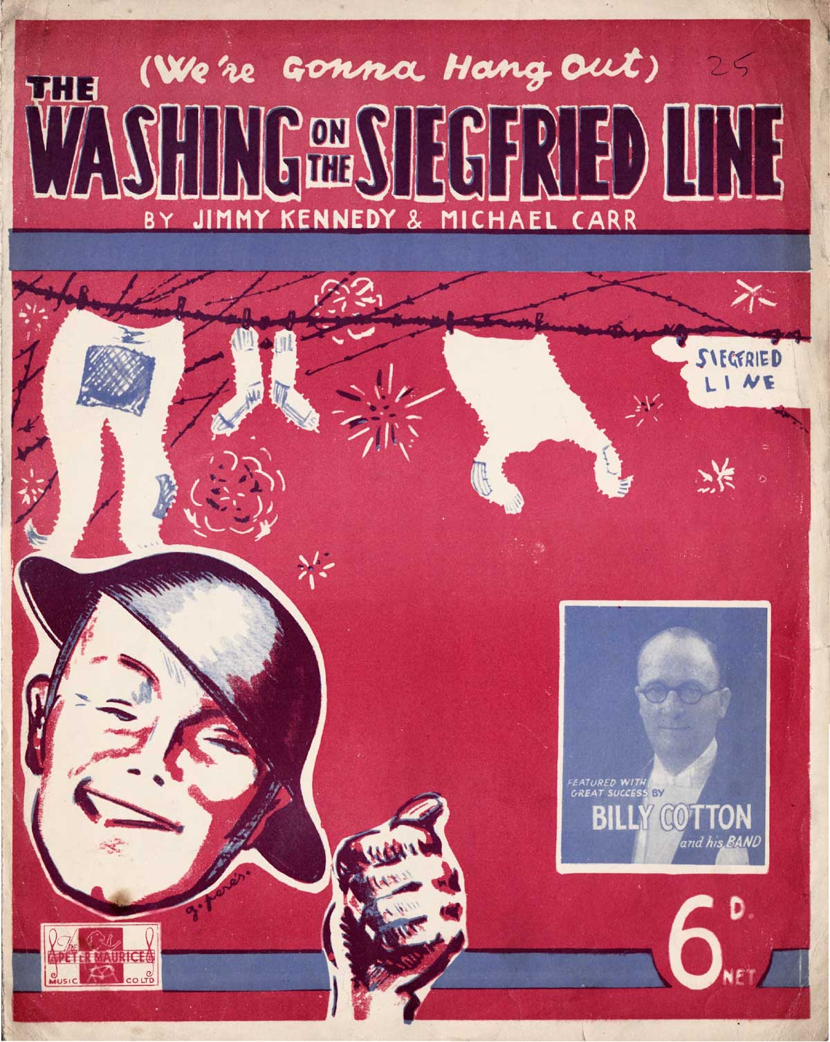 We're Gonna Hang Out the Washing on the Seigfried Line Billy Cotton