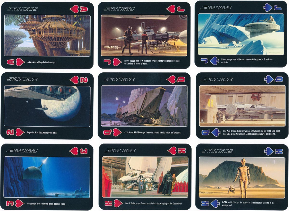 Star Wars Playing Cards  © 2013 Lucasfilm Ltd