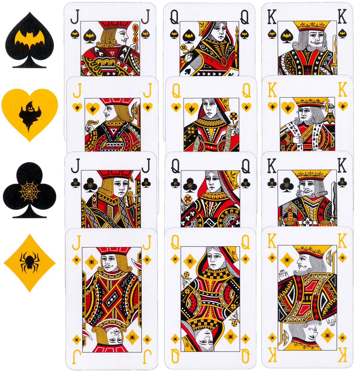'House of Horror' deck published by Strongbow cider, 2015