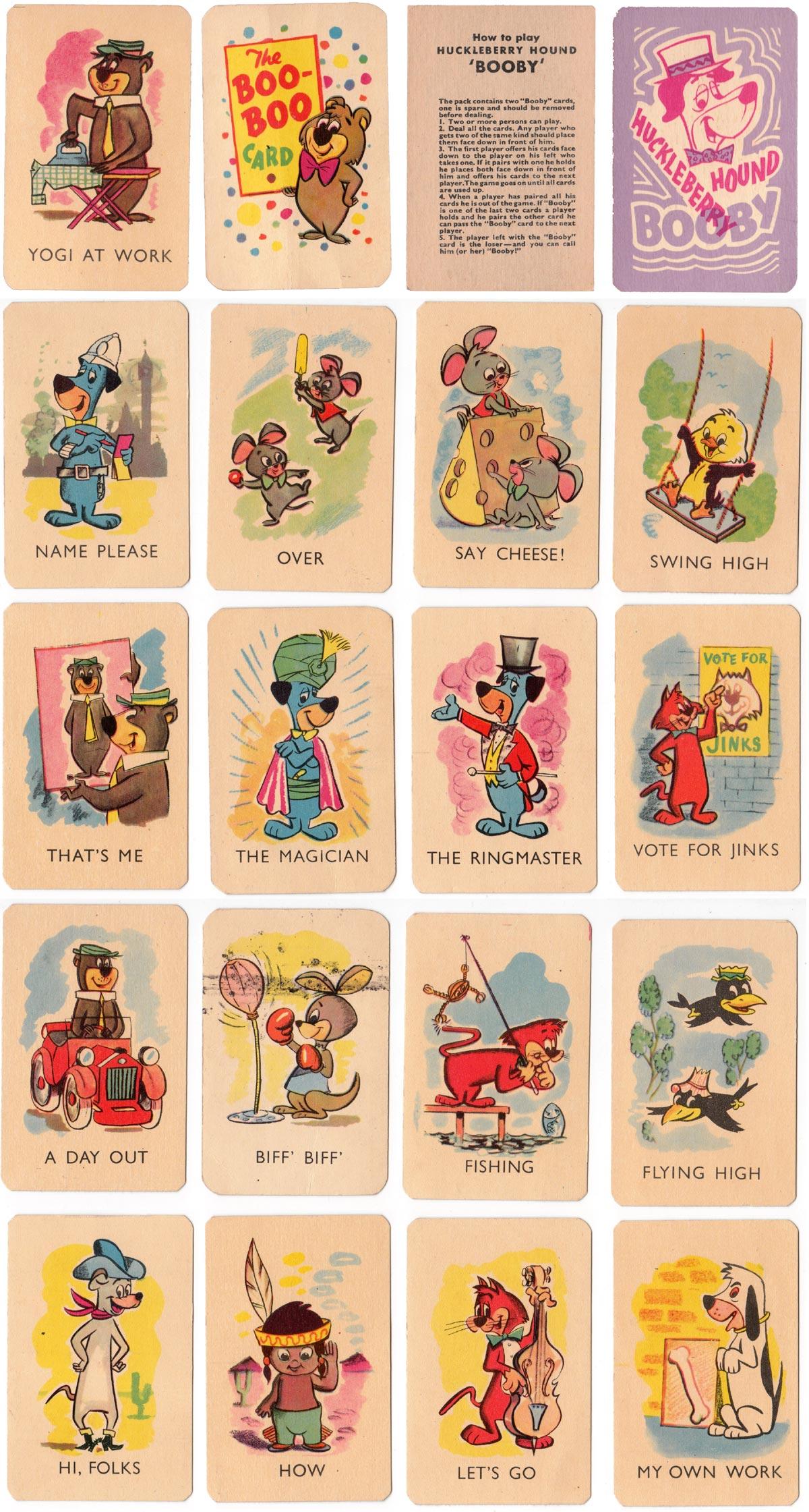 "Tower Press ""Huckleberry Hound Booby"" No 6648, c.1962"
