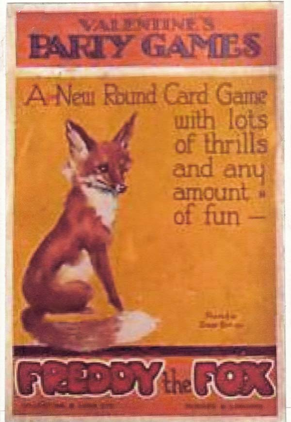 Freddy the Fox, c.1910