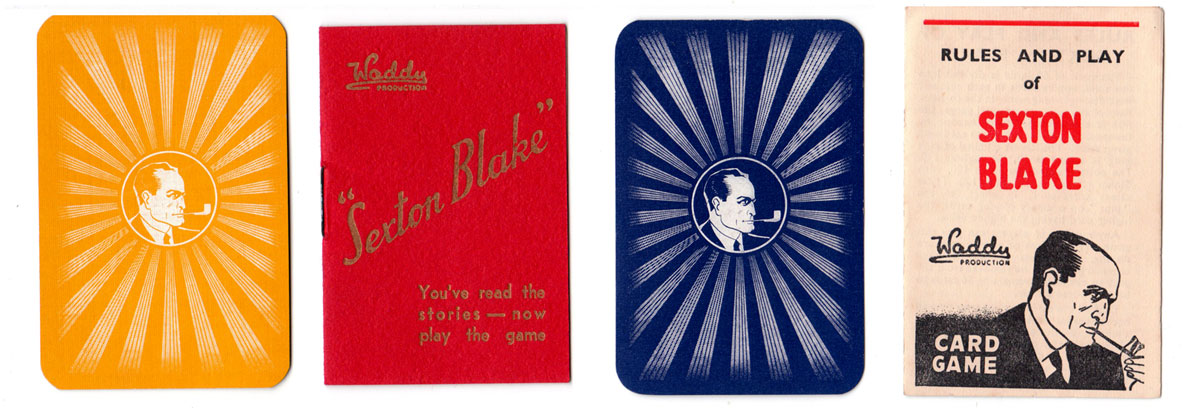 Sexton Blake, Waddy Productions Ltd., 1930s