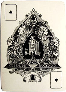 Willis and Co Ace of Spades c.1869-1887