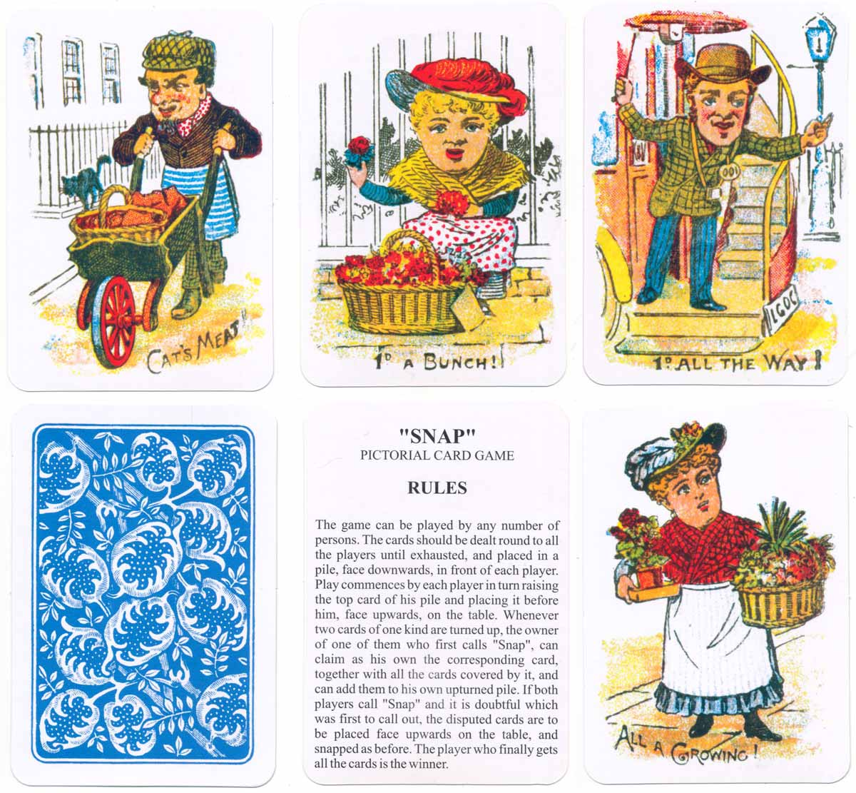 Woolley & Co 'Snap' (c.1905) re-print published by Russimco (cards made in China), 2008