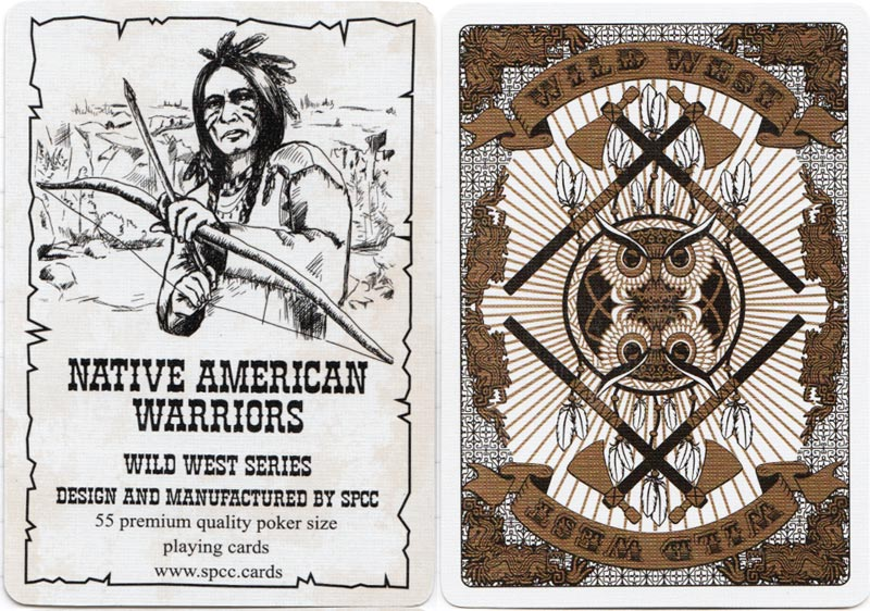 Native American Warriors from the Wild West Series published by SPCC, 2018
