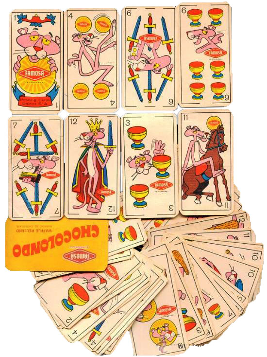 Chocolondo advertising cards