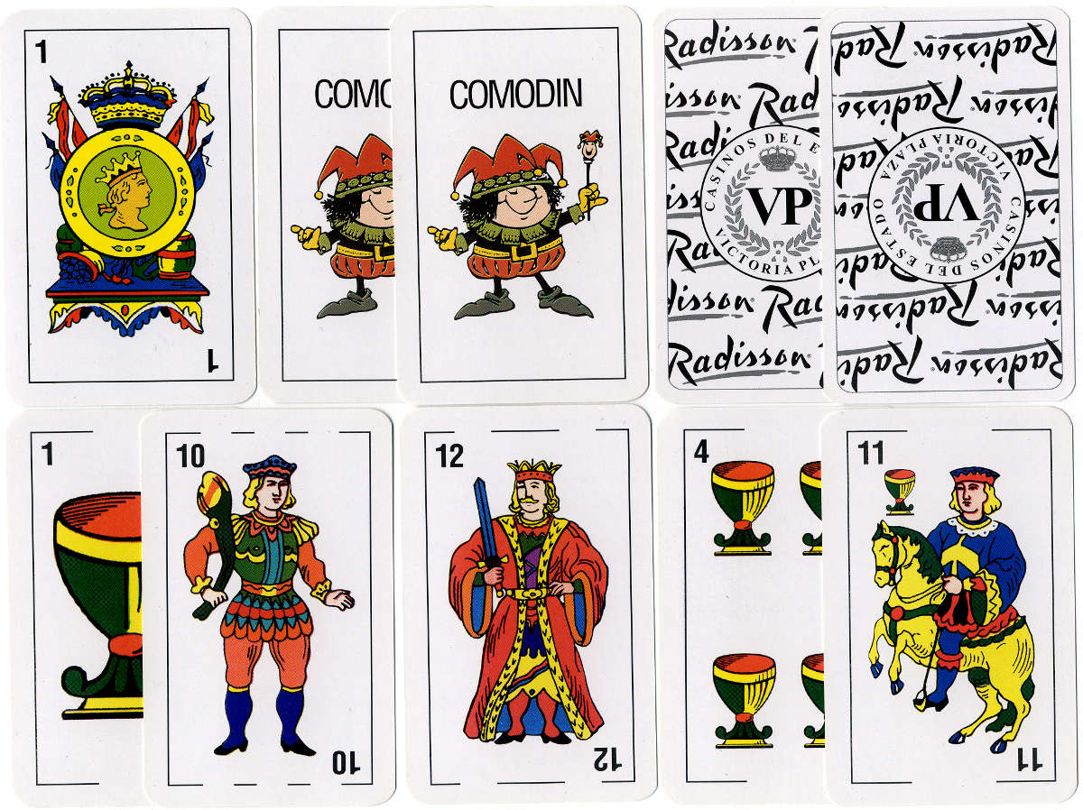 Playing cards for Radisson Hotels - Casinos del Estado - Victoria Plaza, Montevideo, Uruguay, c.2009