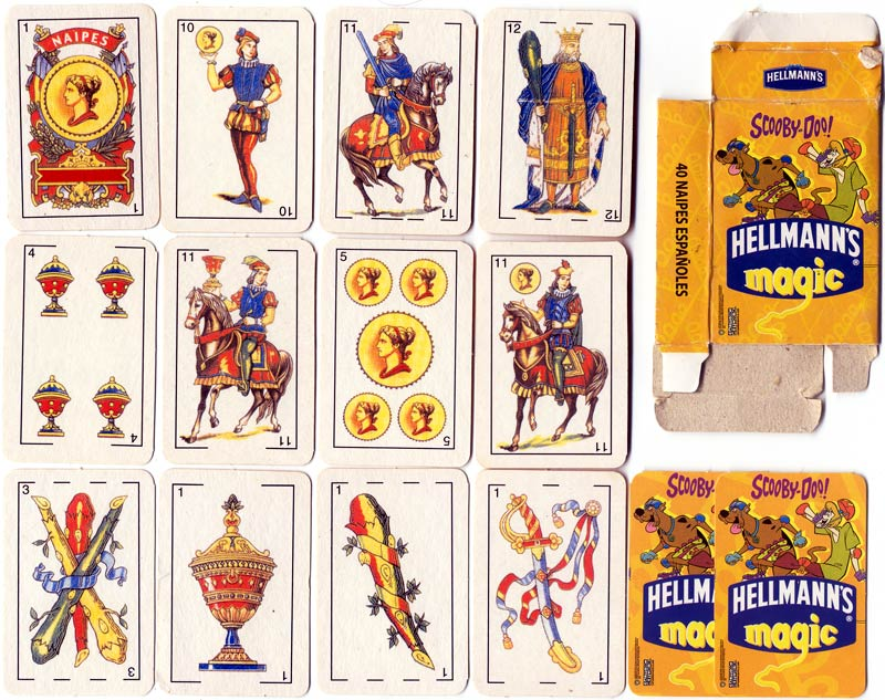 Scooby-Doo! playing cards for Hellmann's Magic