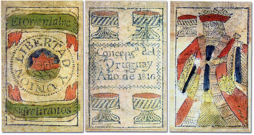 Naipes Artiguistas, Entre Rios (Argentina), 1816