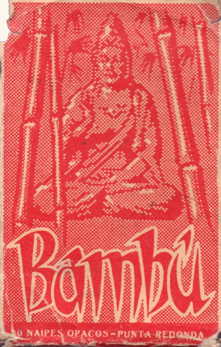 Naipes 'Bambú' manufactured by M.C. de Casabó Ltda, Montevideo, early 1950s