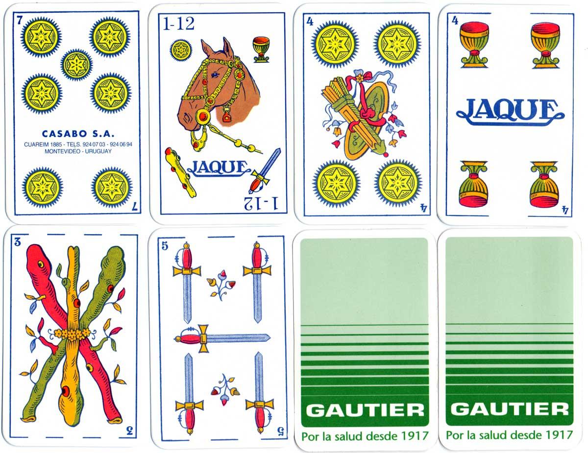 Naipes 'Jaque' by Casabó S.A., c.1997