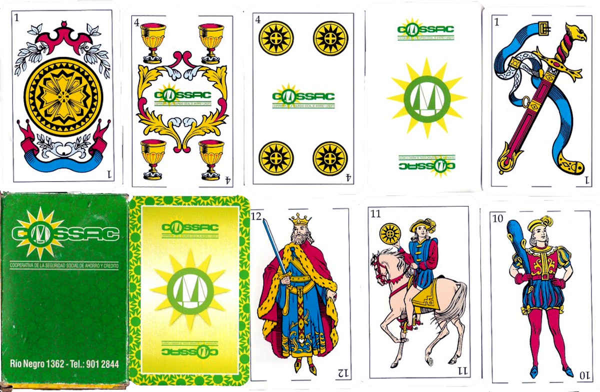 Uruguay playing cards for COSSAC