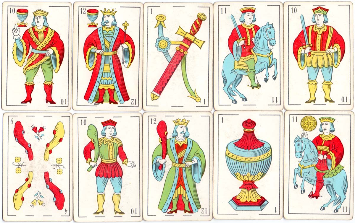 Supermercados CHIP playing cards, c.1979