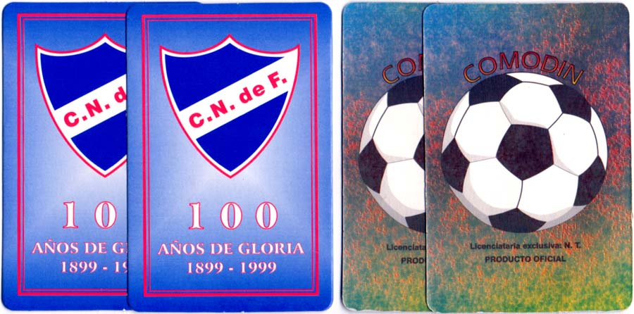 Baraja Club Nacional de Football, Uruguay, 1999