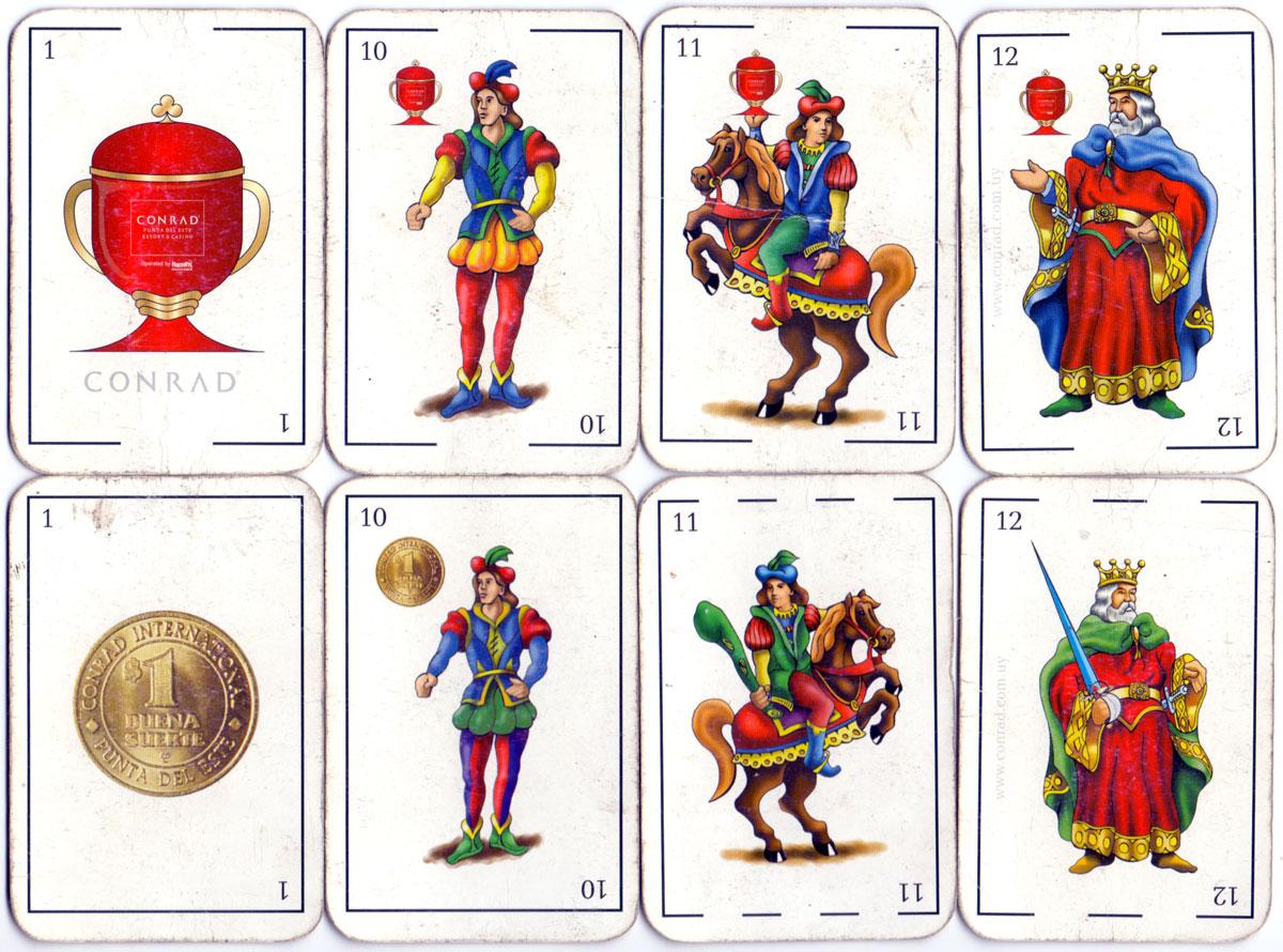 Conrad Punta del Este Casino playing-cards, Uruguay
