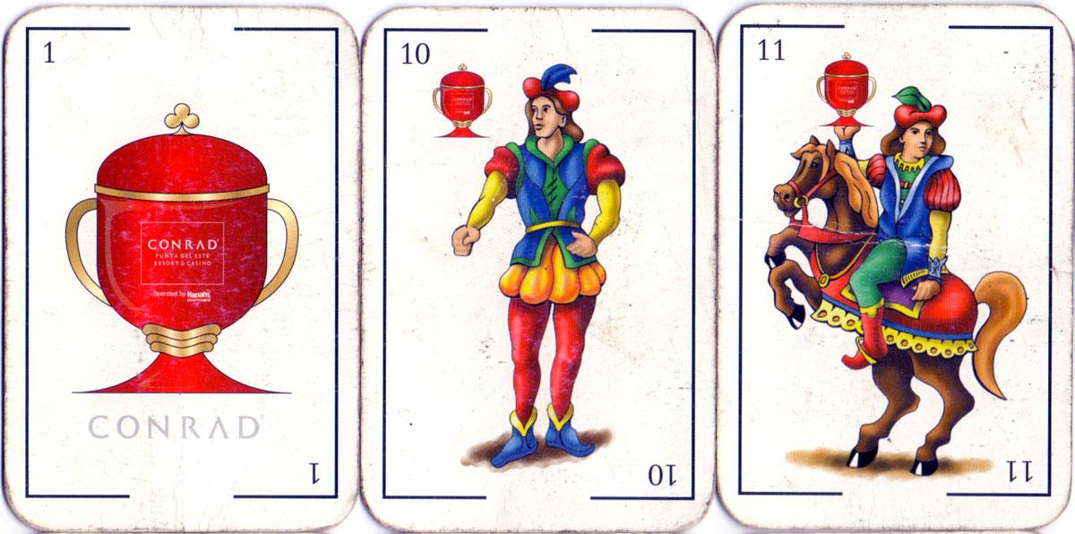 Conrad Punta del Este Casino playing cards