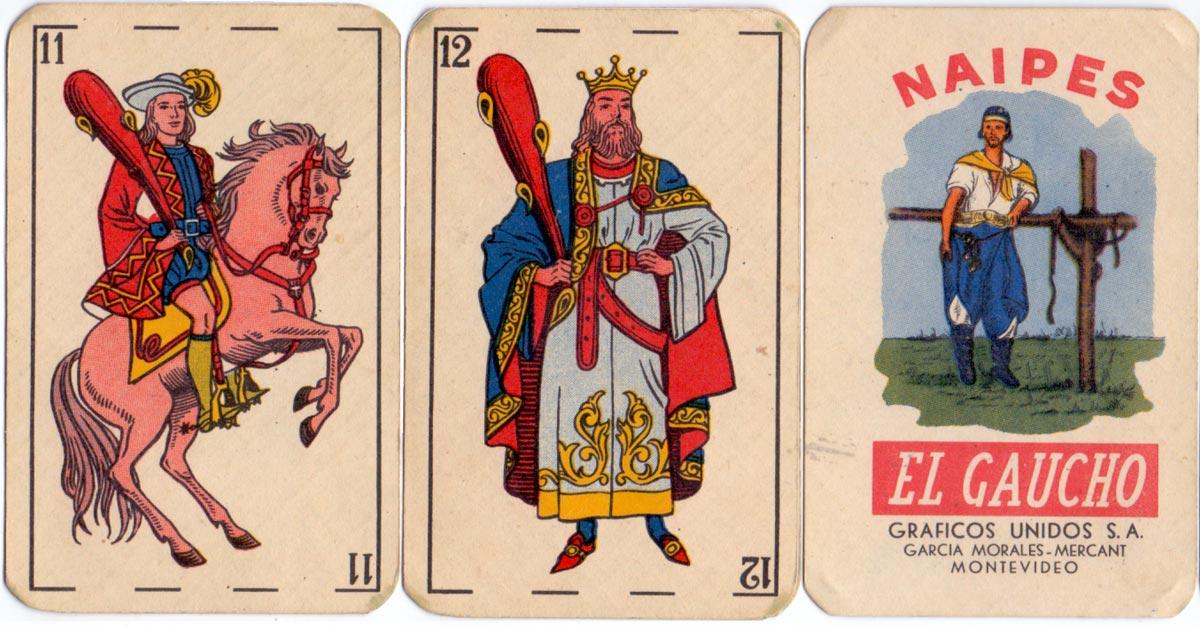 """Naipes """"El Gaucho"""", c.1955-60"""