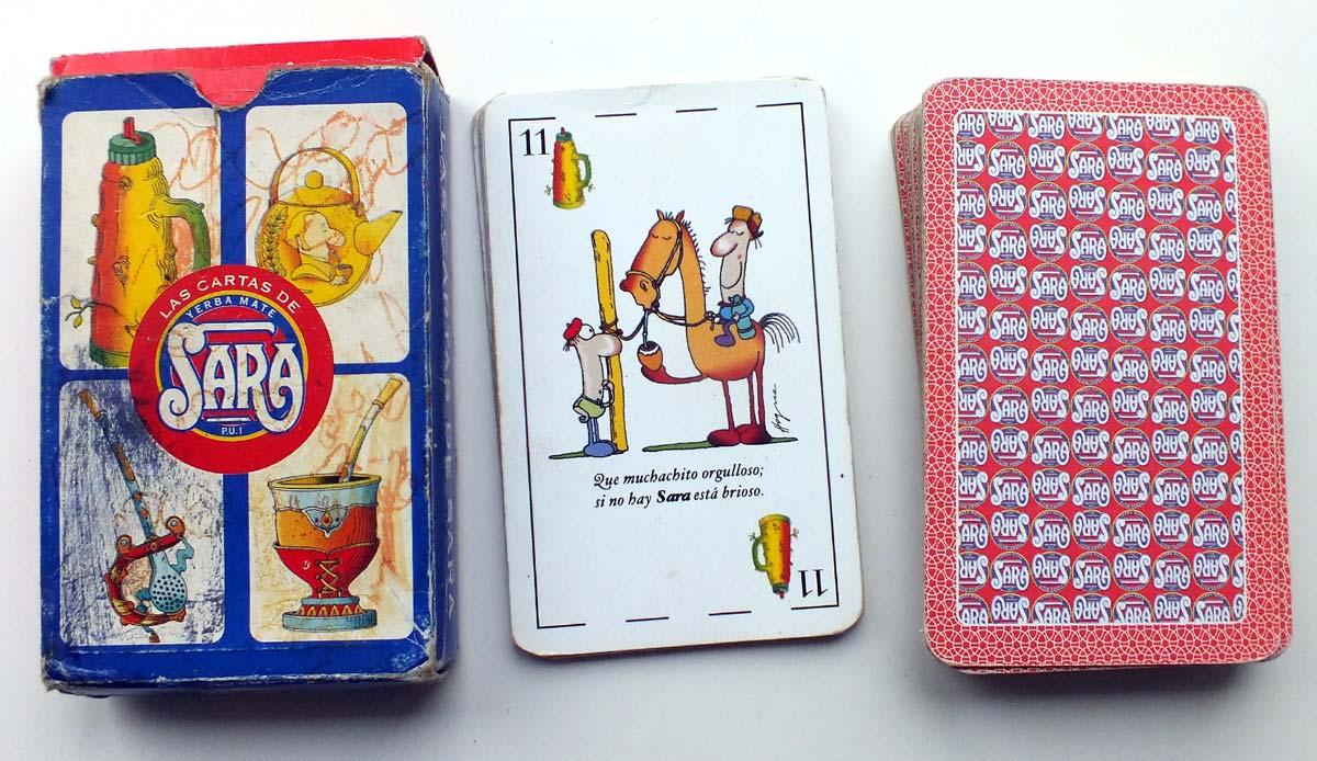 Las Cartas de Sara, yerba mate, c.2003