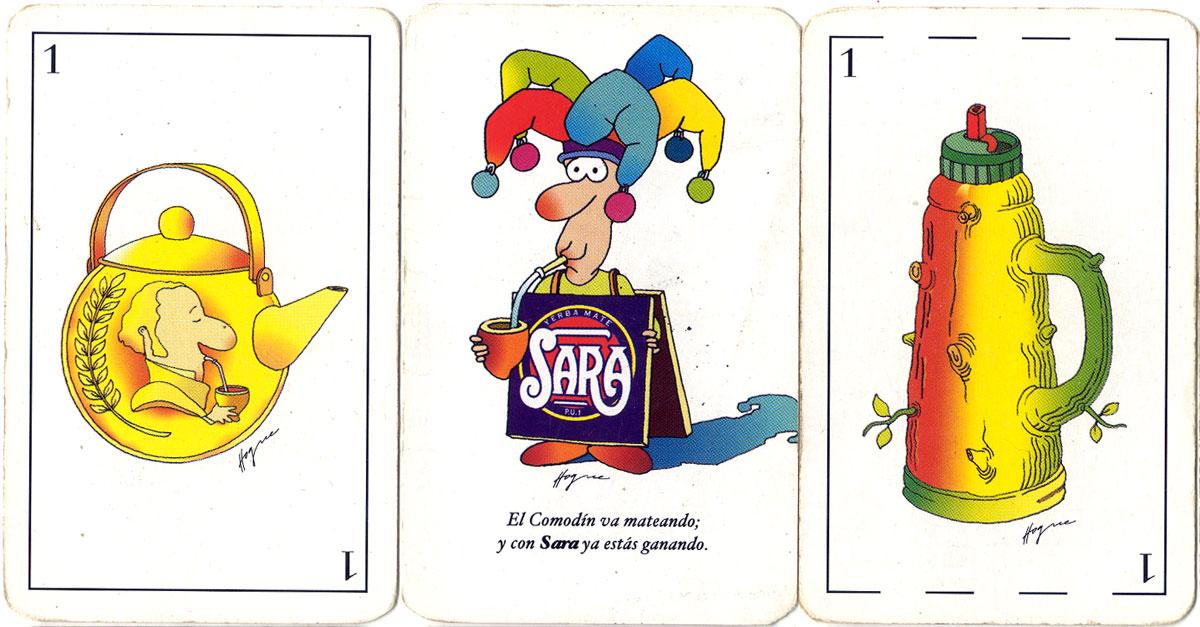 Las Cartas de Sara (Yerba Mate) illustrated by Hogue, 2003