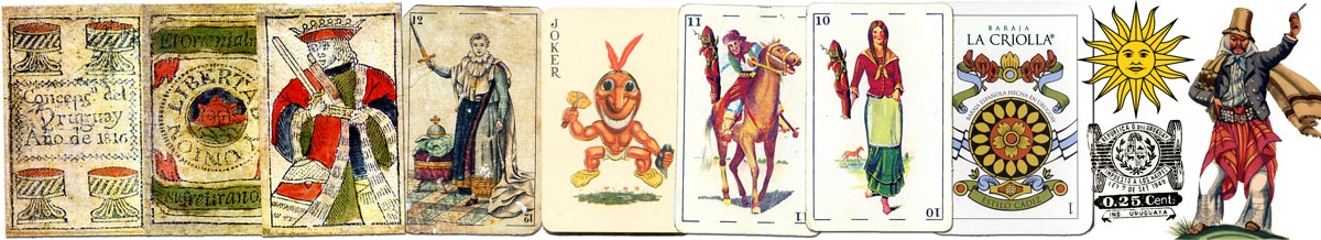 URUGUAYAN PLAYING CARDS - NAIPES URUGUAYOS