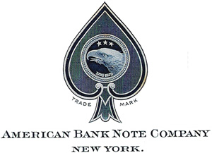 The American Bank Note Company entered the playing card market between c.1908-1914