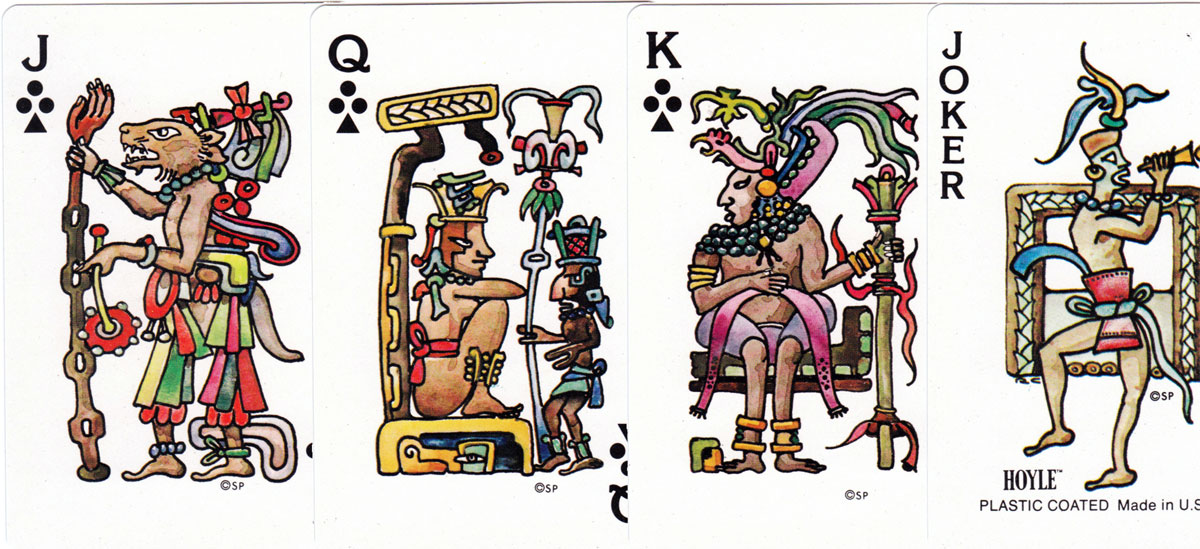 the Maya Deck produced by Stancraft Products for Hoyle, 1976
