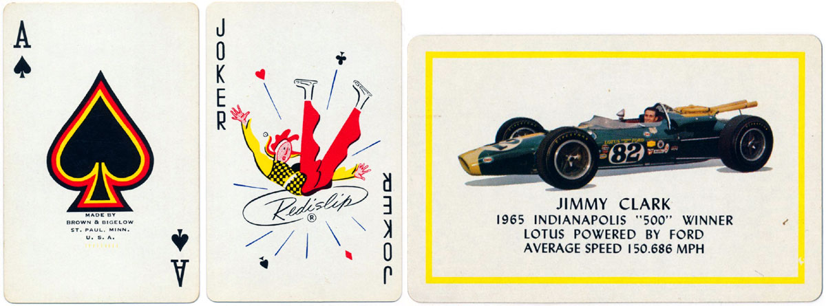 """""""Remembrance"""" playing cards manufactured by Brown & Bigelow, c.1940s"""