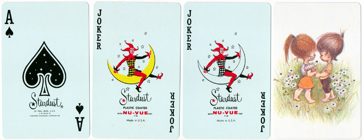 """Stardust"" brand manufactured for Stancraft by Brown & Bigelow, c.1970"