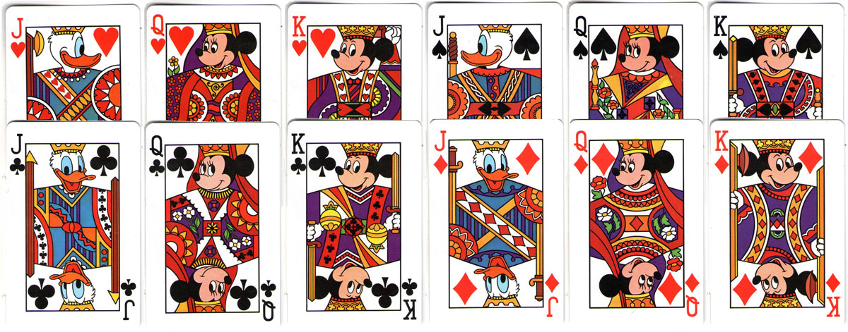 Disney deck © Walt Disney Productions